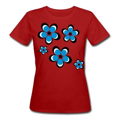 Floral Cluster Tee - Women's Organic T-Shirt