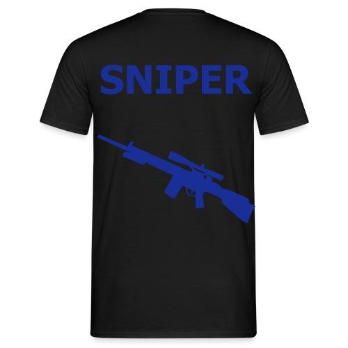 TGK - Sniper Blue - Men's T-Shirt