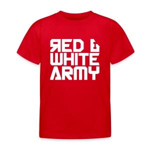 Red & White Army (Kids) - Kids' T-Shirt