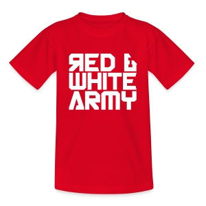 Red & White Army (Kids) - Kids' T-Shirt