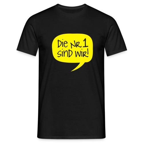 Dortmund Shirt: Die Nr. 1 sind wir - Männer T-Shirt