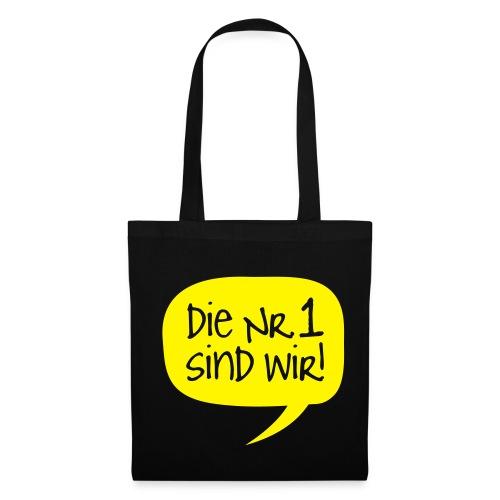 Dortmund Shirt: Die Nr. 1 sind wir - Stoffbeutel