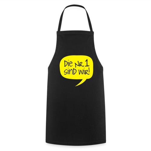 Dortmund Shirt: Die Nr. 1 sind wir - Kochschürze