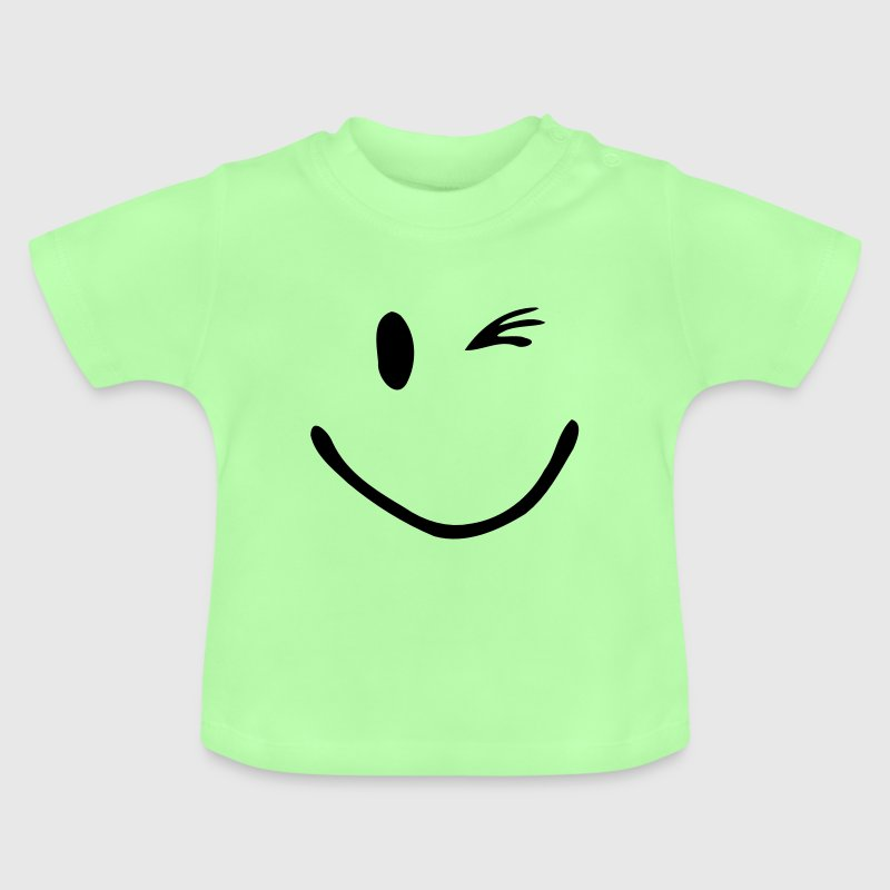 Knipoog Smiley - Baby T-shirt
