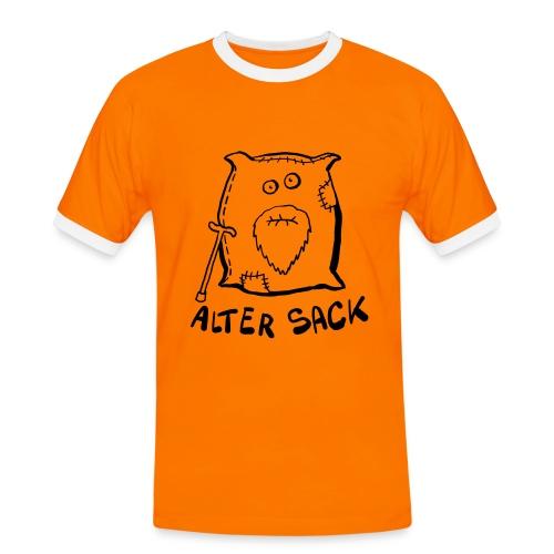 Alter Sack  - Männer Kontrast-T-Shirt