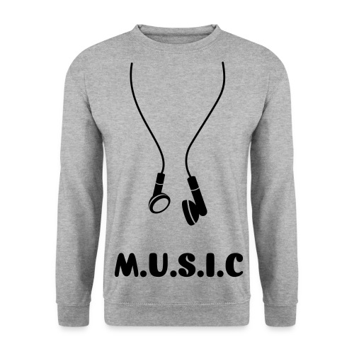 Music sweatshirt. - Men's Sweatshirt