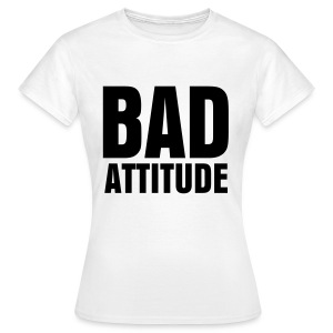 glee born this way bad attitude (F) - Women's T-Shirt