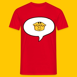 Reciting Pie - Men's T-Shirt