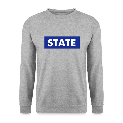 State Rectangle Crew - Men's Sweatshirt