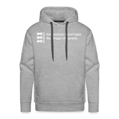 HSRT Hoodie Männer grau - Männer Premium Hoodie