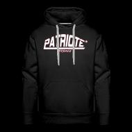 Sweat-shirts ~ Sweat-shirt à capuche Premium pour hommes ~ sweet noir PATRIOTE homme