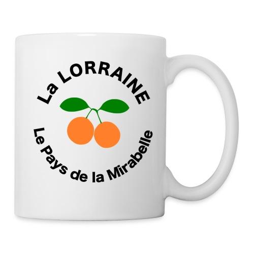 Tasse Mug - Lorraine Pays de la Mirabelle - Mug blanc