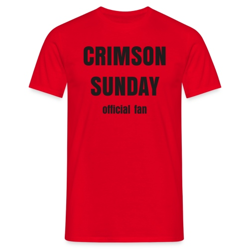 CRIMSON SUNDAY women`s - Männer T-Shirt
