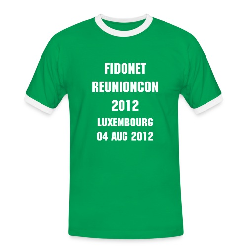 FidoNet ReunionCon 2012 Mens' Tee - Men's Ringer Shirt