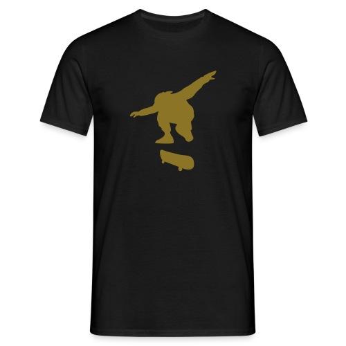 Skater Black n' Gold - Men's T-Shirt