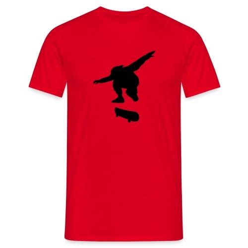 Skater Red n' Black - Men's T-Shirt