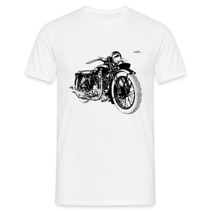 Tshirt Moto Ancienne Terrot HSST HOMME - T-shirt Homme