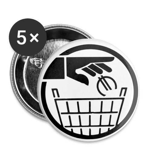BADGES euro poubelle - Badge moyen 32 mm