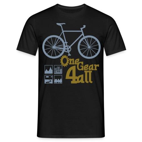 fixie - Männer T-Shirt
