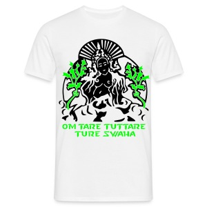White Tara Mantra - UV Active - Classic Men - Men's T-Shirt