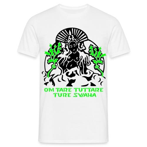 White Tara Mantra - UV Active - Classic Men - Men's T-Shirt