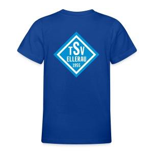 T-Shirt - Raute hinten - Teenager T-Shirt