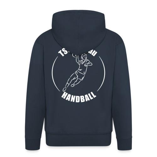 Jacke - TSV Handball-Logo hinten - Männer Premium Kapuzenjacke