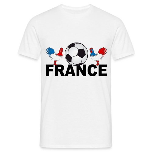 tee shirt supporter france design - Men's T-Shirt