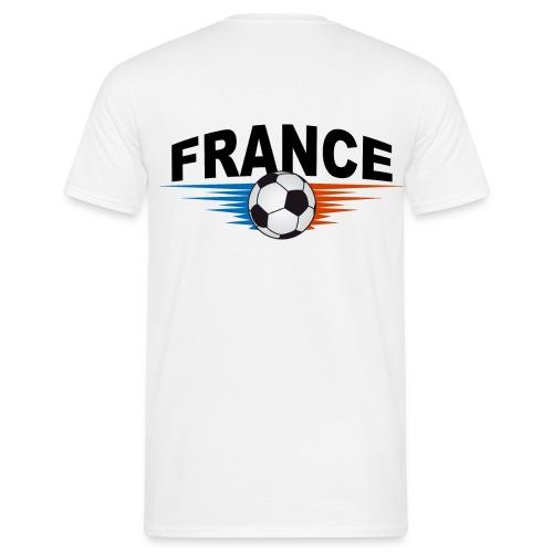 tee shirt supporter france design - Men's T-Shirt