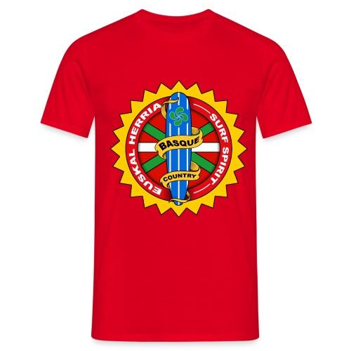 tee shirt basque surfing - Men's T-Shirt