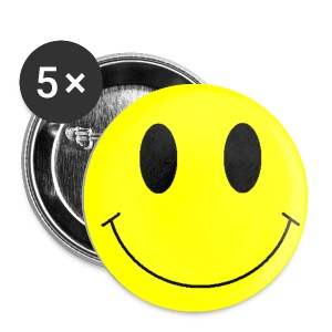 Pins Smiley - Badge petit 25 mm