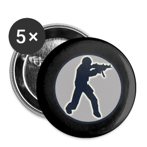 Pins Counter Strike - Badge petit 25 mm
