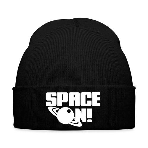 Space on! /Black - Winter Hat