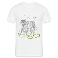 T-Shirts ~ Men's T-Shirt ~ Elephant