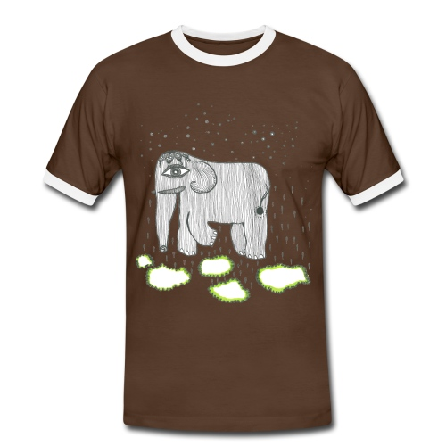Elephant - Men's Ringer Shirt