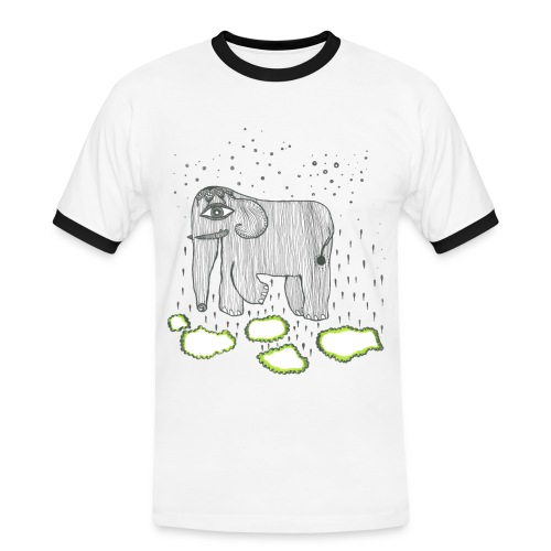 Elephant - Men's Ringer Shirt