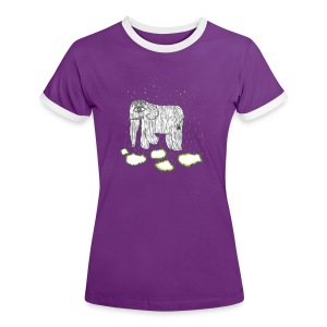 Elephant - Women's Ringer T-Shirt