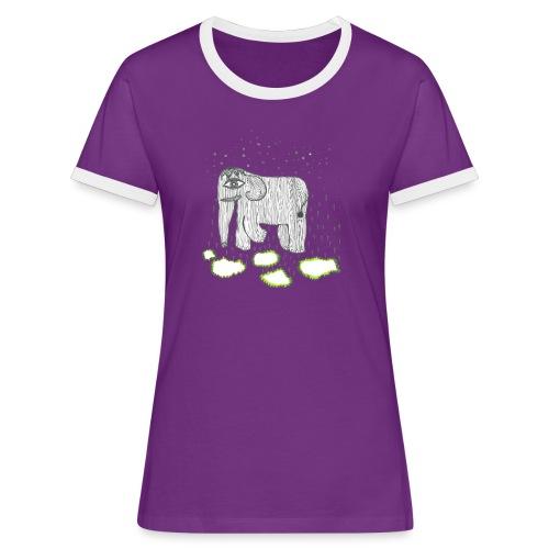 Elephant - Women's Ringer T-Shirt