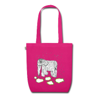 Bags & Backpacks ~ EarthPositive Tote Bag ~ Elephant
