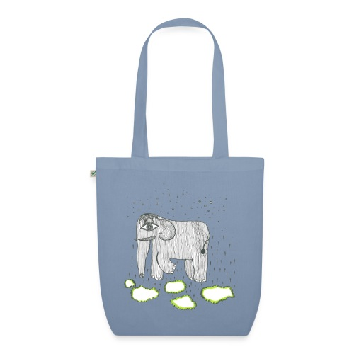 Elephant - EarthPositive Tote Bag