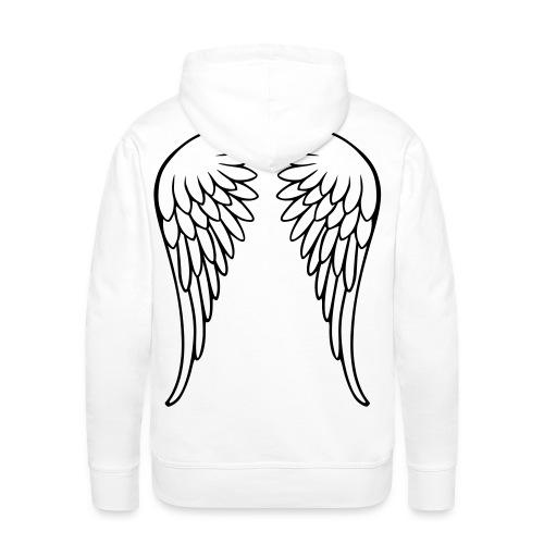 the angel man - Miesten premium-huppari