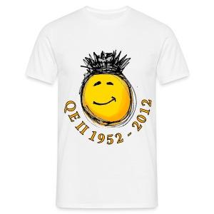 QE II Jubilee smiley T-Shirt - Men's T-Shirt