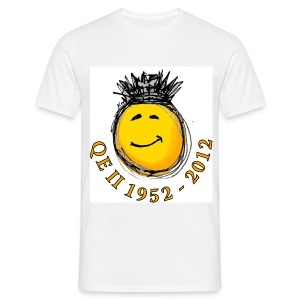 QE II Jubilee smiley T-Shirt - Men's T-Shirt