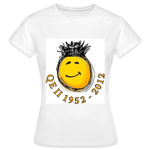 QE II Jubilee smiley T-Shirt - Women's T-Shirt