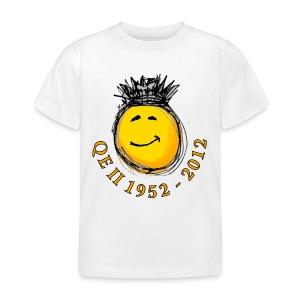 QE II Jubilee smiley T-Shirt - Kids' T-Shirt
