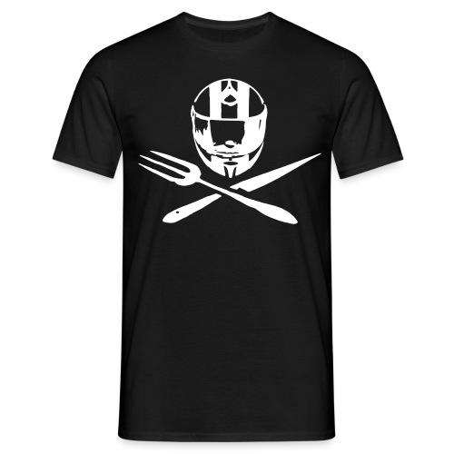 Motociclsiti da Tavola_Jolly Roger - la maglietta mezza manica - Maglietta da uomo