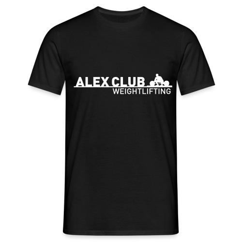 Alex Club Weightlifting 3 - Maglietta da uomo