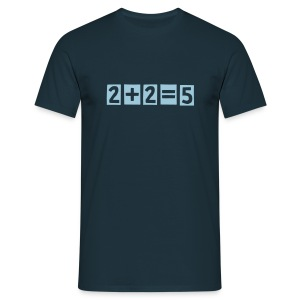 Radiohead 2 + 2 = 5 music rock T shirt - Men's T-Shirt