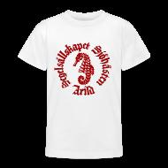 T-shirts ~ T-shirt tonåring ~ Sjöhästen Klassik T-shirt tonåring