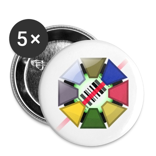 Codemon Pins - Buttons small 1''/25 mm (5-pack)
